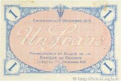 1 Franc FRANCE régionalisme et divers Villefranche-Sur-Saône 1915 JP.129.04 TTB+