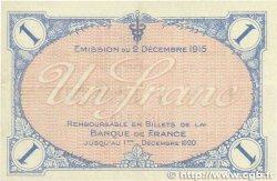 1 Franc FRANCE régionalisme et divers Villefranche-Sur-Saône 1915 JP.129.04 SUP
