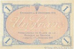 1 Franc FRANCE régionalisme et divers VILLEFRANCHE-SUR-SAÔNE 1915 JP.129.04 SPL