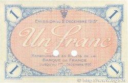 1 Franc FRANCE régionalisme et divers VILLEFRANCHE-SUR-SAÔNE 1915 JP.129.05 SUP