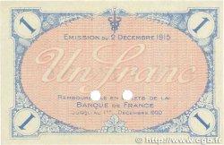 1 Franc FRANCE régionalisme et divers VILLEFRANCHE-SUR-SAÔNE 1915 JP.129.05 SPL