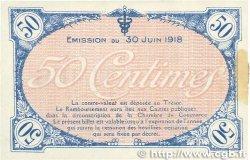 50 Centimes FRANCE régionalisme et divers VILLEFRANCHE-SUR-SAÔNE 1918 JP.129.07 SPL