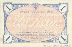 1 Franc FRANCE régionalisme et divers VILLEFRANCHE-SUR-SAÔNE 1918 JP.129.09 TTB+