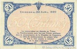 50 Centimes FRANCE régionalisme et divers VILLEFRANCHE-SUR-SAÔNE 1920 JP.129.11 TTB