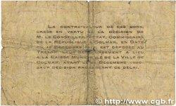 50 Centimes FRANCE régionalisme et divers Colmar 1918 JP.130.01 B