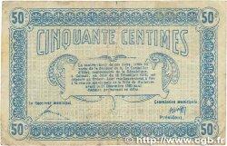 50 Centimes FRANCE régionalisme et divers MULHOUSE 1918 JP.132.01 B+