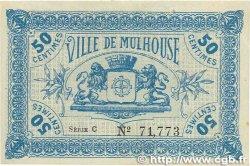 50 Centimes FRANCE régionalisme et divers MULHOUSE 1918 JP.132.01