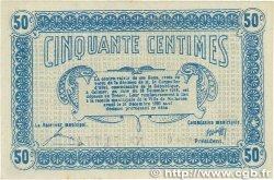 50 Centimes FRANCE régionalisme et divers MULHOUSE 1918 JP.132.01 TTB+