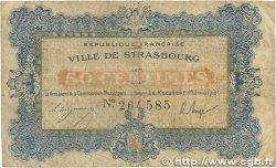 50 Centimes FRANCE régionalisme et divers Strasbourg 1918 JP.133.01 B