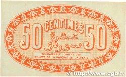 50 Centimes FRANCE régionalisme et divers ALGER 1915 JP.137.05 SUP