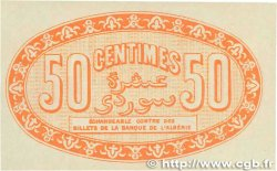 50 Centimes FRANCE régionalisme et divers ALGER 1915 JP.137.05 SUP+