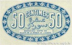 50 Centimes FRANCE régionalisme et divers ALGER 1915 JP.137.08 SUP+