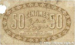 50 Centimes FRANCE régionalisme et divers Alger 1915 JP.137.09 B