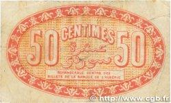 50 Centimes FRANCE régionalisme et divers ALGER 1919 JP.137.11 B