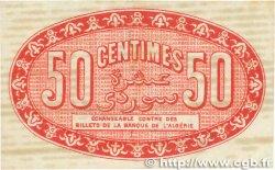50 Centimes FRANCE régionalisme et divers ALGER 1919 JP.137.11 pr.TTB