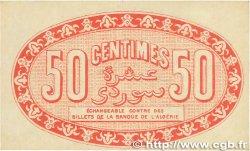 50 Centimes FRANCE régionalisme et divers ALGER 1919 JP.137.11 SUP
