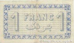 1 Franc FRANCE régionalisme et divers Alger 1919 JP.137.12 pr.TTB