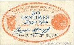 50 Centimes FRANCE régionalisme et divers Alger 1921 JP.137.19 TTB