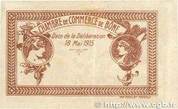 50 Centimes FRANCE régionalisme et divers BÔNE 1915 JP.138.01 TTB+