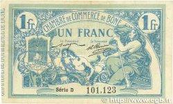 1 Franc FRANCE régionalisme et divers BÔNE 1915 JP.138.03 TTB