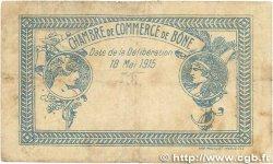 1 Franc FRANCE régionalisme et divers Bône 1915 JP.138.03 B