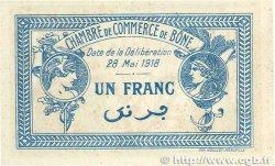 1 Franc FRANCE régionalisme et divers Bône 1918 JP.138.07 SUP