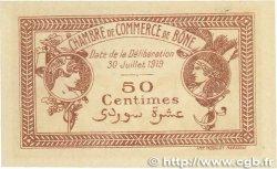 50 Centimes FRANCE régionalisme et divers BÔNE 1919 JP.138.08 pr.NEUF