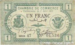 1 Franc FRANCE régionalisme et divers Bougie, Sétif 1915 JP.139.02 TB