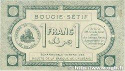 1 Franc FRANCE régionalisme et divers BOUGIE, SÉTIF 1915 JP.139.02 SUP