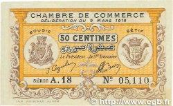 50 Centimes FRANCE régionalisme et divers BOUGIE, SÉTIF 1918 JP.139.03 pr.SPL