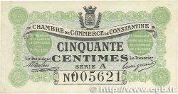 50 Centimes FRANCE régionalisme et divers Constantine 1915 JP.140.01 TTB+