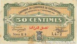 50 Centimes FRANCE régionalisme et divers CONSTANTINE 1916 JP.140.06 TB