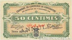 50 Centimes FRANCE régionalisme et divers CONSTANTINE 1916 JP.140.09 pr.SPL
