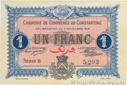 1 Franc FRANCE régionalisme et divers Constantine 1916 JP.140.10 SUP+