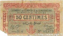 50 Centimes FRANCE régionalisme et divers Constantine 1919 JP.140.19 AB