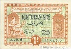 1 Franc FRANCE régionalisme et divers CONSTANTINE 1919 JP.140.20 TTB+