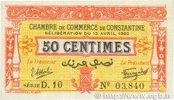 50 Centimes FRANCE régionalisme et divers CONSTANTINE 1920 JP.140.23 TTB+