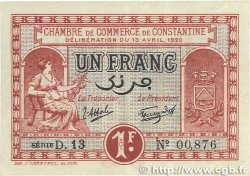 1 Franc FRANCE régionalisme et divers Constantine 1920 JP.140.24 TTB