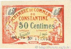 50 Centimes FRANCE régionalisme et divers Constantine 1921 JP.140.27 TTB