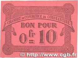 10 Centimes FRANCE régionalisme et divers CONSTANTINE 1915 JP.140.47 pr.SPL