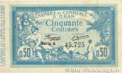 50 Centimes FRANCE régionalisme et divers Oran 1915 JP.141.01 TTB