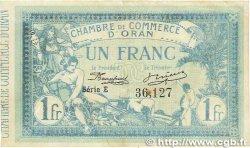 1 Franc FRANCE régionalisme et divers Oran 1915 JP.141.02 pr.TTB