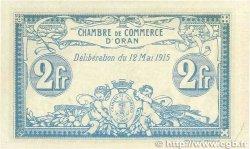 2 Francs FRANCE régionalisme et divers ORAN 1915 JP.141.03 SPL