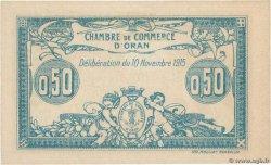 50 Centimes FRANCE régionalisme et divers Oran 1915 JP.141.04 pr.SPL