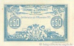 50 Centimes FRANCE régionalisme et divers ORAN 1915 JP.141.04 pr.NEUF