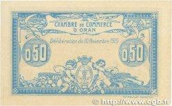50 Centimes FRANCE régionalisme et divers ORAN 1915 JP.141.04 NEUF