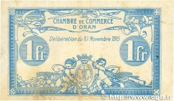 1 Franc FRANCE régionalisme et divers ORAN 1915 JP.141.08 pr.TTB