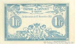 1 Franc FRANCE régionalisme et divers Oran 1915 JP.141.08 SPL