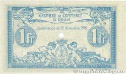 1 Franc FRANCE régionalisme et divers ORAN 1915 JP.141.12 SPL+