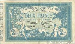2 Francs FRANCE régionalisme et divers ORAN 1915 JP.141.14 pr.TTB
